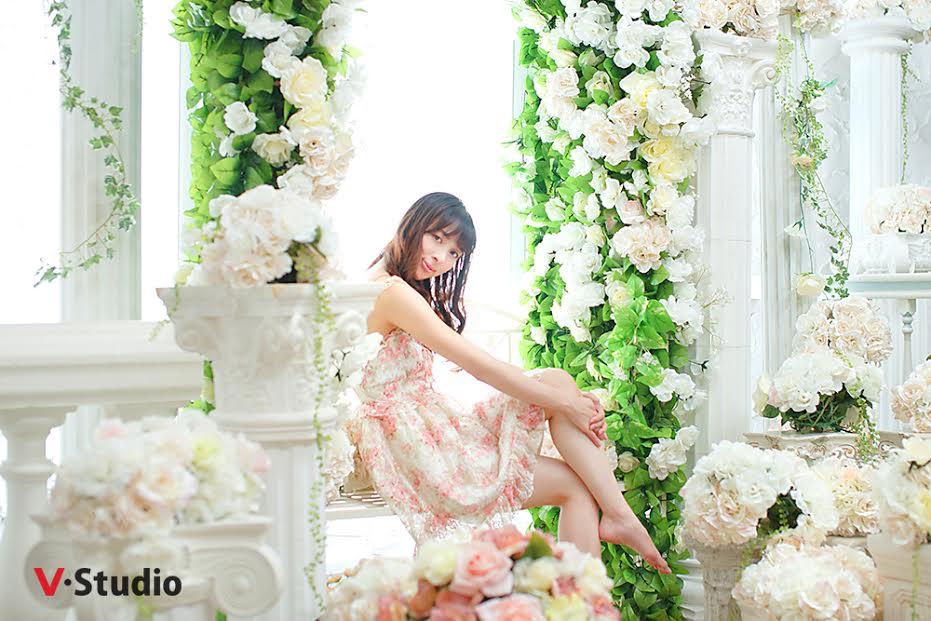 バラアーチお花いっぱい見本写真